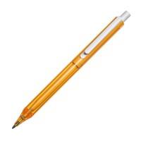Transparenter Kugelschreiber mit weißem Clip