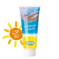 Sonnenmilch LSF 30, 100 ml (weiß)