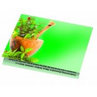 Samen-Klappkärtchen Kräuter, 90 x 60 mm
