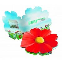 Samen-Kärtchen Blume