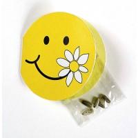 Samen-Klappkärtchen Smiley, Zwergsonnenblume