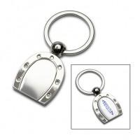 Schlüsselanhänger REFLECTS-ALMADA als Werbemittel in Silber