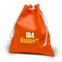 Lunchsäckerl Hasselt mit Zuziehkordel mit Ihrem Werbedruck