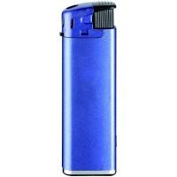 Automatik-Feuerzeug  U-507 LED   Blau Metallic