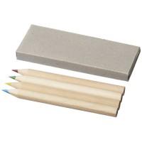 4 teiliges Buntstifteset | Braun