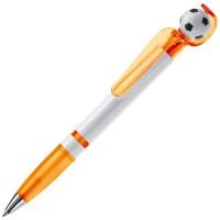 Fan Kugelschreiber mit Fußball | Orange