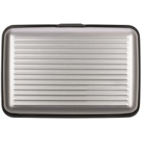 Aluminium Visitenkartenhalter | Silber