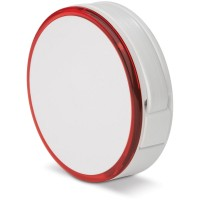 HUB mit Licht und 4 USB Anschlüsse | Weiß / Rot