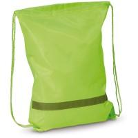 Reflektor-Rucksack aus Polyester | Hellgrün