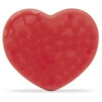 Pfefferminzdose Herz | Gefrostet Rot