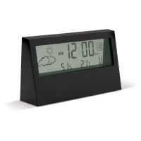 Elektronische Wetterstation klein | Schwarz