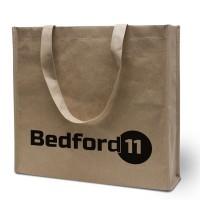 Materialmix-Tasche Bedford mit Ihrem Werbedruck
