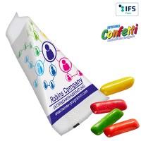 Promo-Spitz mit HITSCHIES Confetti Kaubonbons