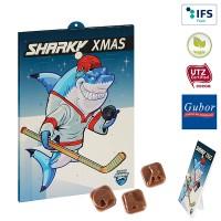 Eishockey-Schoko-Adventskalender BUSINESS | 1-farbig
