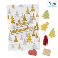 Fruchtgummi Standardformen 10 Gramm - Weihnachten mit Standardmotiv