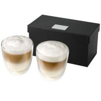 Boda 2 teiliges Kaffee Set | Transparent/Klar