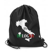 Polyester-Zuzieh-Rucksack Bologna mit Ihrem Werbedruck