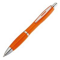 Kunststoffkugelschreiber mit Metallclip
