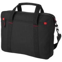 "Vancouver 15,4"" Laptop-Tasche | Schwarz/Rot"