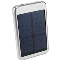 4000 mAh Bask Solar Powerbank | Silber