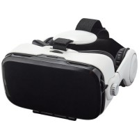 Virtual Reality Headset mit Kopfhörern   Weiß