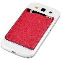 Premium RFID-Telefontasche | Rot