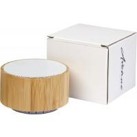Cosmos Bluetooth® Lautsprecher aus Bambus | Holz,Weiss