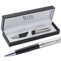 Mark Twain Kugelschreiber in Acrylbox