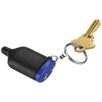 2-IN-1 Musiksplitter-Schlüsselanhänger mit Stylus