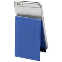 Premium RFID-Telefontasche mit Ständer | Royalblau