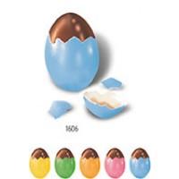 Nougat Ei in Natureischale