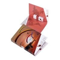Faltkarte mit Pfefferminzriegel | Digitaldruck 4-farbig