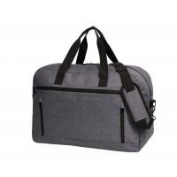Reisetasche FASHION | Blau-Grau Meliert
