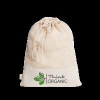Bio-Baumwoll-Mehrwegbeutel Organic