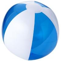 Beispiel Bondi Strandball, einfarbig/transparent | Transparent Blau mit Logo
