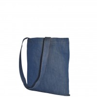 Stabile Jeans-Einkaufstasche 38 x 42 cm