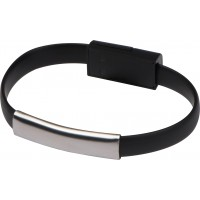 USB Armband mit 2in1 Stecker