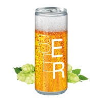 Bier, Smart Label (Pfandfrei, Export)
