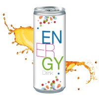 Energy Drink,  Smart Label (Pfandfrei, Export)