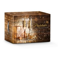 Prickelnder Adventskalender Gold