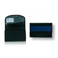 """CreativDesign Wagenpapiertasche  """"ColourLane"""" Streifen blau"""