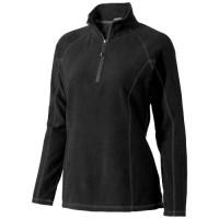 Bowlen Damen Polyfleece Sweater 1/4 Reißverschluss