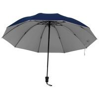 Regenschirm, innen Silber