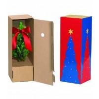Schuber für Einzelversandpackung kleine Weihnachtsbäumchen