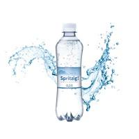 Weitere Ansicht Mineralwasser, 500 ml, spritzig (Flasche Slimline)