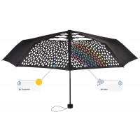 Colormagic® Mini-Taschenschirm | Schwarz | hochwertige Markenschirme von Fare