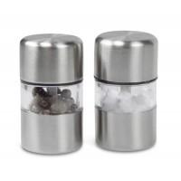 Salz- und Pfefferset REFLECTS-JONESBORO als Werbemittel in Silber