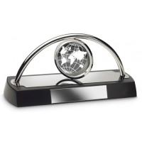 Uhr REFLECTS-HOLTVILLE als Werbemittel in Schwarz, Silber
