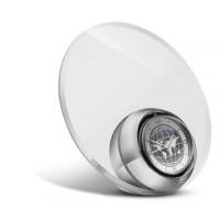 Uhr REFLECTS-TOURS als Werbemittel in Silber