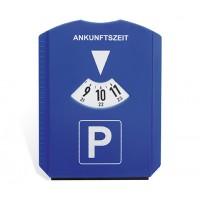Parkscheibe REFLECTS-DUNBAR als Werbemittel in Blau